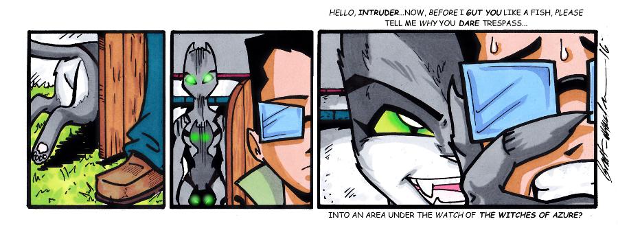 #114 Intruder!