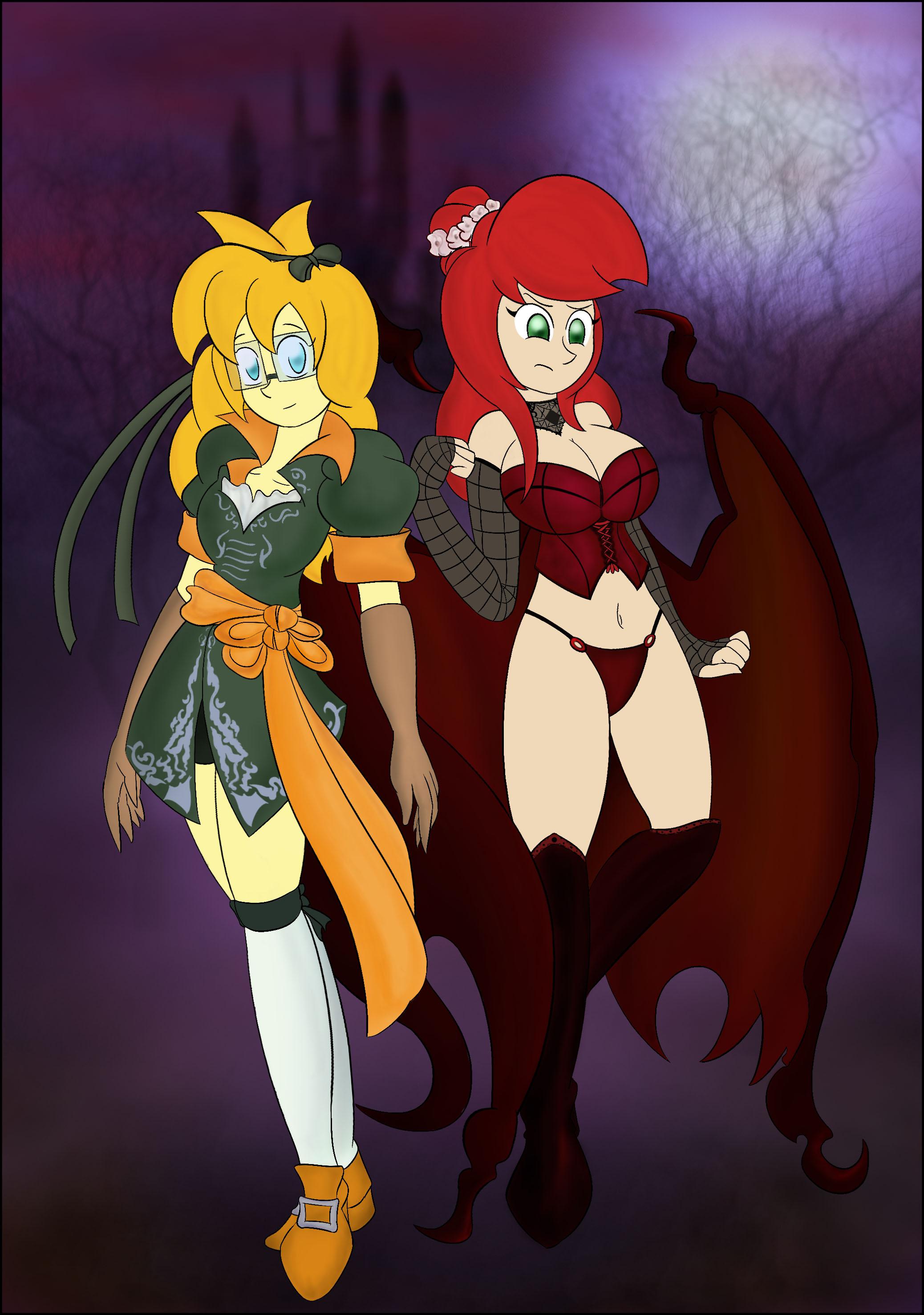 Halloween Filler: Scarlet Night