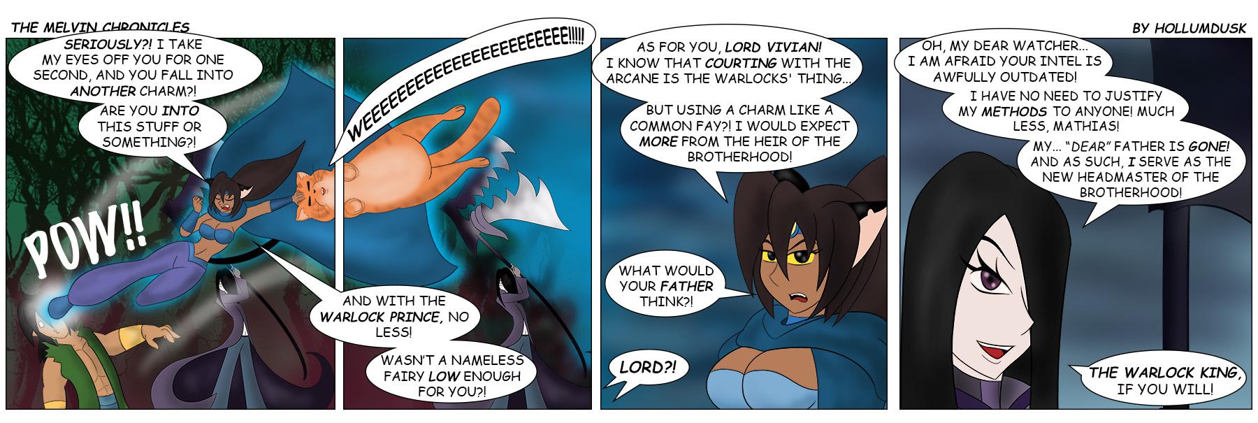 110: The Warlock… King?