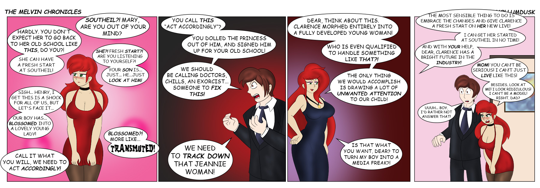Red's First Steps: Page 18